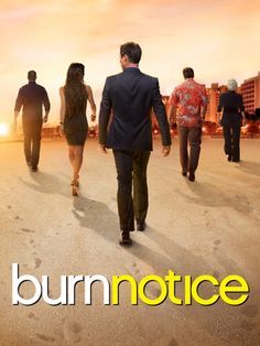 USA Network Original Series - Burn Notice starring Jeffrey Donovan, Gabrielle Anwar, Bruce Campbell, and Sharon Gless. Movies Showing, Movies And Tv Shows, Chuck Finley, Michael Weston, Emission Tv, Usa Network, Action, Great Tv Shows, Me Tv