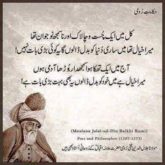 Hakayat e Roumi Sufi Quotes, Urdu Quotes, Poetry Quotes, Spiritual Quotes, Wisdom Quotes, Quotations, Qoutes, Rumi Books, Jalaluddin Rumi