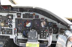 "Lockheed C-141A/B ""Starlifter"" co-pilot cockpit"