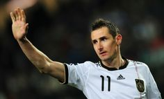 World Cup top-scorer Klose retires   Berlin (AFP)  Germanys prolific Miroslav Klose the all-time World Cup top-scorer announced his retirement on Tuesday at the age of 38.  The striker Germanys record scorer with 71 goals in 137 internationals was without a club after his Lazio contract expired last season and he will now join the national sides coaching staff.  Klose hit a record 16th goal in World Cup finals during the 7-1 semi-final thrashing of hosts Brazil two years ago which saw him…