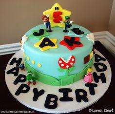 The Baking Sheet: Mario Bros. Cake!