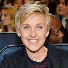 Ellen DeGeneres' Changing Looks - 2014 from InStyle.com