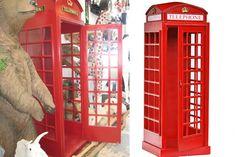La cabina telefonica inglese in scala 1:1   La vogliooo *-*