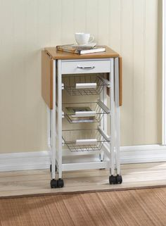 Beautiful Extended Kitchen Table Trolley