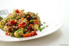 Σαλατα Φακες - Stavroula's Healthy Cooking Kung Pao Chicken, Better Life, Healthy Cooking, Sprouts, Risotto, Potato Salad, Food And Drink, Diet, Vegetables