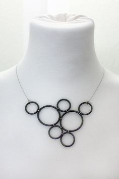 Necklace made from o-rings :)