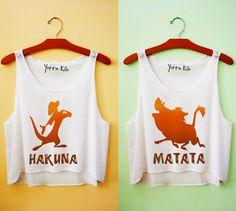 Hakuna Matata!  Maybe for my future Little and I!