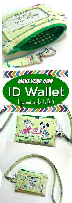 Make this Kristine ID wallet today! Check out the tips and tricks along with all the pattern info right here. If you are looking for the necessary hardware - I provide options for this as well! Love this fabric by Elea Lutz called Strawberry Biscuit!