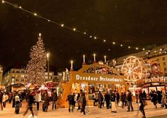 Dresden Germany Christmas Market | famous for its Christmas Markets. The Dresden Striezelmarkt, Germany ...