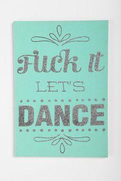 Let's Dance Wall Art