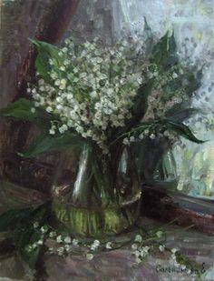 'Lilies of the valley' by Elena Salnikova
