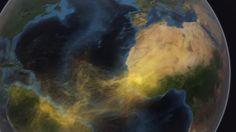 Tons of Sahara Desert dust crosses the Atlantic to fertilize the Amazon rainforest