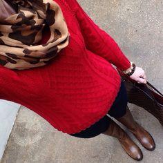 Instagram @headedoutthedoor #ootd | @oldnavy sweater and scarf | @gap denim | @thefryecompany boots | @louisvuitton bag | @jcrew bracelet | @michaelkors watch