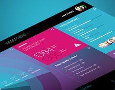 Ознакомьтесь с этим проектом @Behance: «SPACE UI Dashboard» https://www.behance.net/gallery/23005367/SPACE-UI-Dashboard