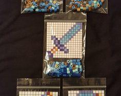 Diese Perlen Perler DIYKits Sind Inspiriert Vom Awesome Minecraft - Minecraft spiele zum bauen