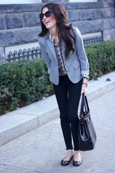 So classy- love the pink lips