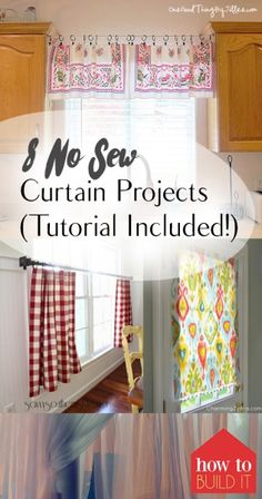 8 No Sew Curtain Projects (Tutorial Included!) - How To Build It