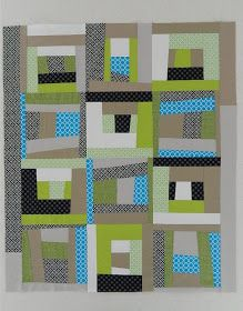 My little boy's quilt is all finished! As I mentioned before  it started with a pattern by Denyse Schmidt. I loved her quilt, but hated all...