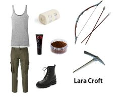 Dress like Lara Croft from the remastered version on Playstation