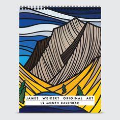 James Weikert Original Art Calendar - Calendar - Cover, 25