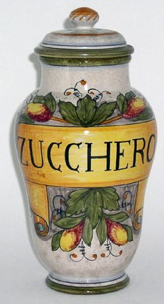 Italian Pottery | Italian Ceramics Rustica Canisters