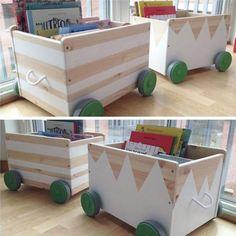 The idea of design boxes for toys FLISAT  More ideas: https://en.ikea-club.org/ikea-lifehacks/frontpage.html