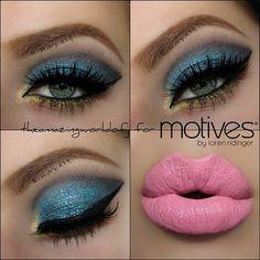 Gorgeous by #theamazingworldofj called heavenly creature using #motivescosmetics