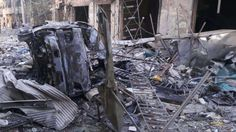 "Jet rezim Asad menewaskan 22 warga sipil di lingkungan al-Sha'ar Aleppo  ALEPPO (Arrahmah.com) - Sebanyak 22 warga sipil tewas pada Selasa (27/9/2016) oleh serangan rezim Asad di lingkungan al-Sha'ar Aleppo di daerah yang dikendalikan oleh oposisi koresponden Orient News melaporkan.  ""Pesawat tempur rezim Asad menargetkan daerah pemukiman di lingkungan itu dengan lebih dari satu serangan udara yang menyebabkan banyak bangunan hancur"" kata Khaled Abu al-Majed koresponden Orient News…"