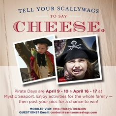 Pirate Days at Mystic Seaport! April 9-10 & 16-17, 2013