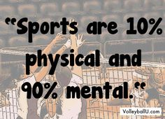 Sport psychology truth! Pretty sure I said this today! Everyday!