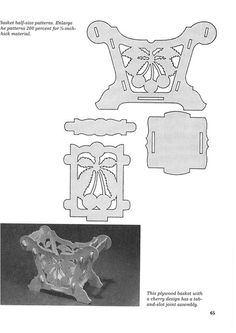 The Art of Woodworking Cnc, Scroll Saw Patterns, Scroll Design, Diy And Crafts, Arts And Crafts, Paper Crafts, Clown Face Paint, Illusion 3d, Baby Animal Drawings