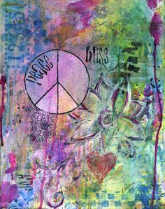 Kali Parsons...finding bliss...one creation at a time: Peace, Bliss, and Joy