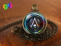 Assassins Creed (5) Gaming Necklace Pendant Charm Jewelry