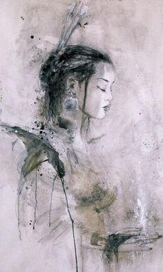 Art by Luis Royo - Dead Moon