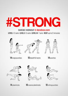 is a workout that helps your body develop strength and power without exhausting you. Fit Board Workouts, Easy Workouts, At Home Workouts, Workout Board, Darbee Workout, Boxing Workout, Workout Routines, Workout Ideas, Workout Challenge