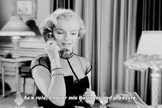 "satnin: "" Marilyn Monroe as Harriet in ""As Young As You Feel,"" 1951. """