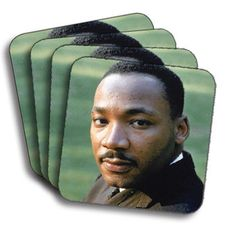 Martin Lither King (Color) (Set of 4)