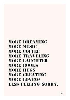 Mi idea de una vida increíble!