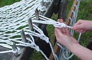 swinging macrame chair | hammock instructions