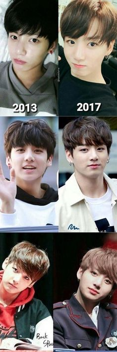 Dang Kookie puberty hit you like a truck You were always cute tho