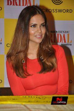 Esha Gupta At Bridal Issue Launch