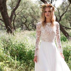 "Limor Rosen's2017 bridal collection presents the Tel Aviv based designer's most romantic wedding dress designs yet. Entitled ""Birds of Paradise"", the new"