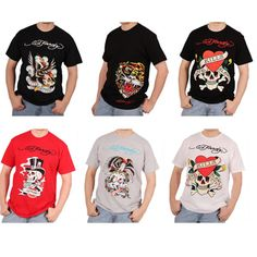 Ed Hardy Men's s/s screen printed t-shirts  http://www.tradeguide24.com/3838___Ed_Hardy_Men__s_s_s_screen_printed_t_shirts_assortment_36pcs.__ehtee___ #EdHardy #tshirts #fashion #stocklot #wholeasle