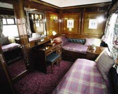 Royal Scotsman luxury train twin cabin