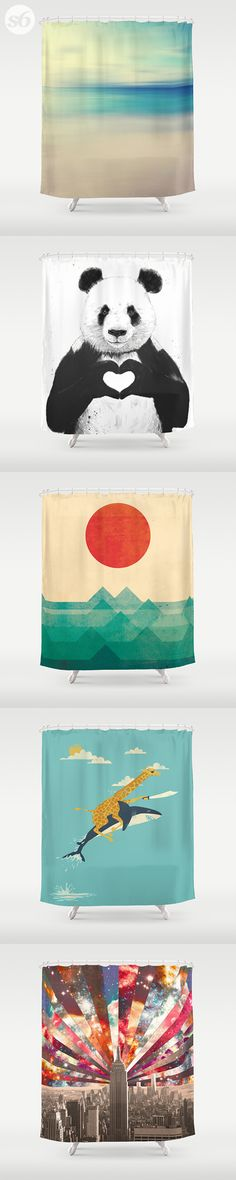 Shower Curtains and millions of other products available at Society6.com today. Every purchase supports independent art and the artist that created it.