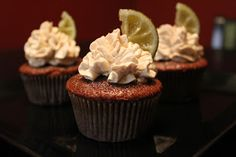 Tiny Kitchen Cupcakes: Rum and Coke Cupcakes