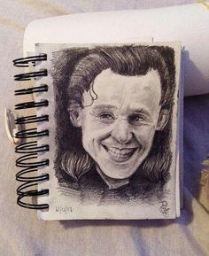 Loki portrait A6