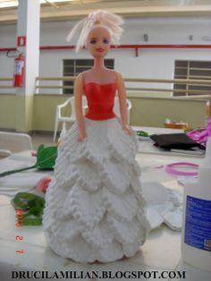 P.A.P. Vestido de EVA para bonecas