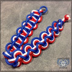 Red White Blue Bracelet Patriotic By Jenniferrayjewelry 12 00