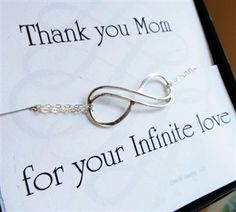 Thank you mom bracelet... thank you mom for your infinite love. #gifts for mom #mothers day gifts